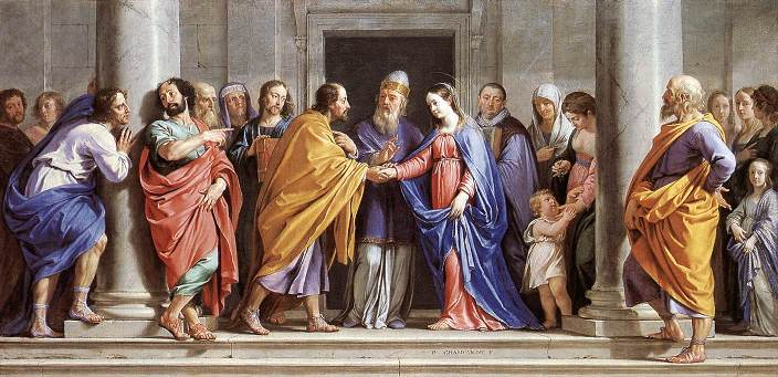 The Marriage of the Virgin by Philippe de Champaigne