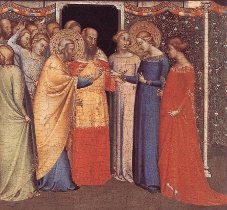 The Marriage of the Virgin by Bernardo Daddi