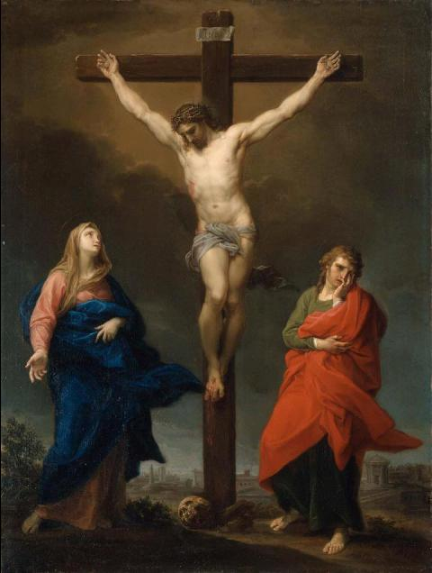 Painting of the Crucifixtion