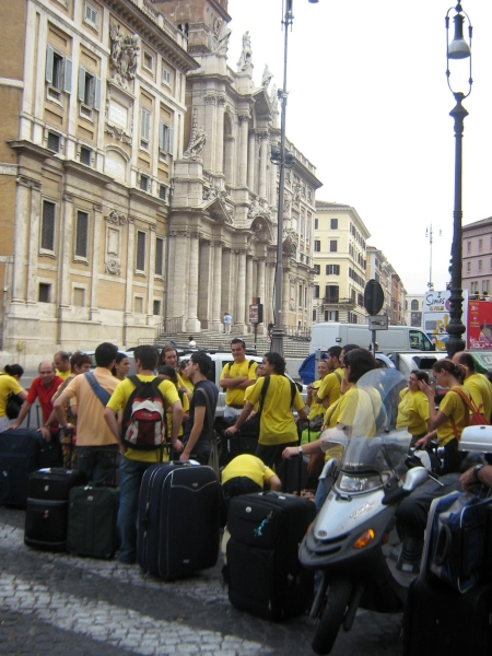 SCJ Choir back to Malta from Rome